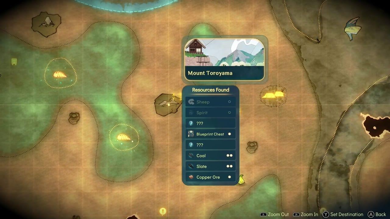 Spiritfarer map