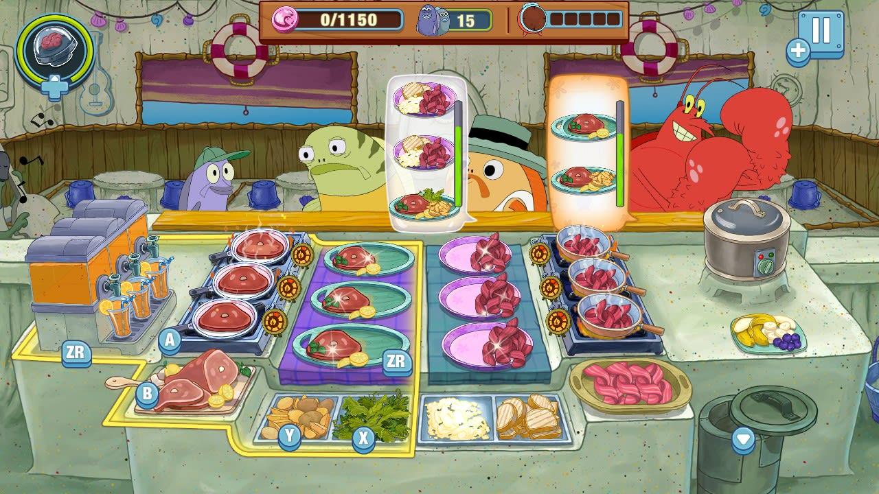 海绵宝宝:大闹蟹堡王(SpongeBob: Krusty Cook-Off)插图