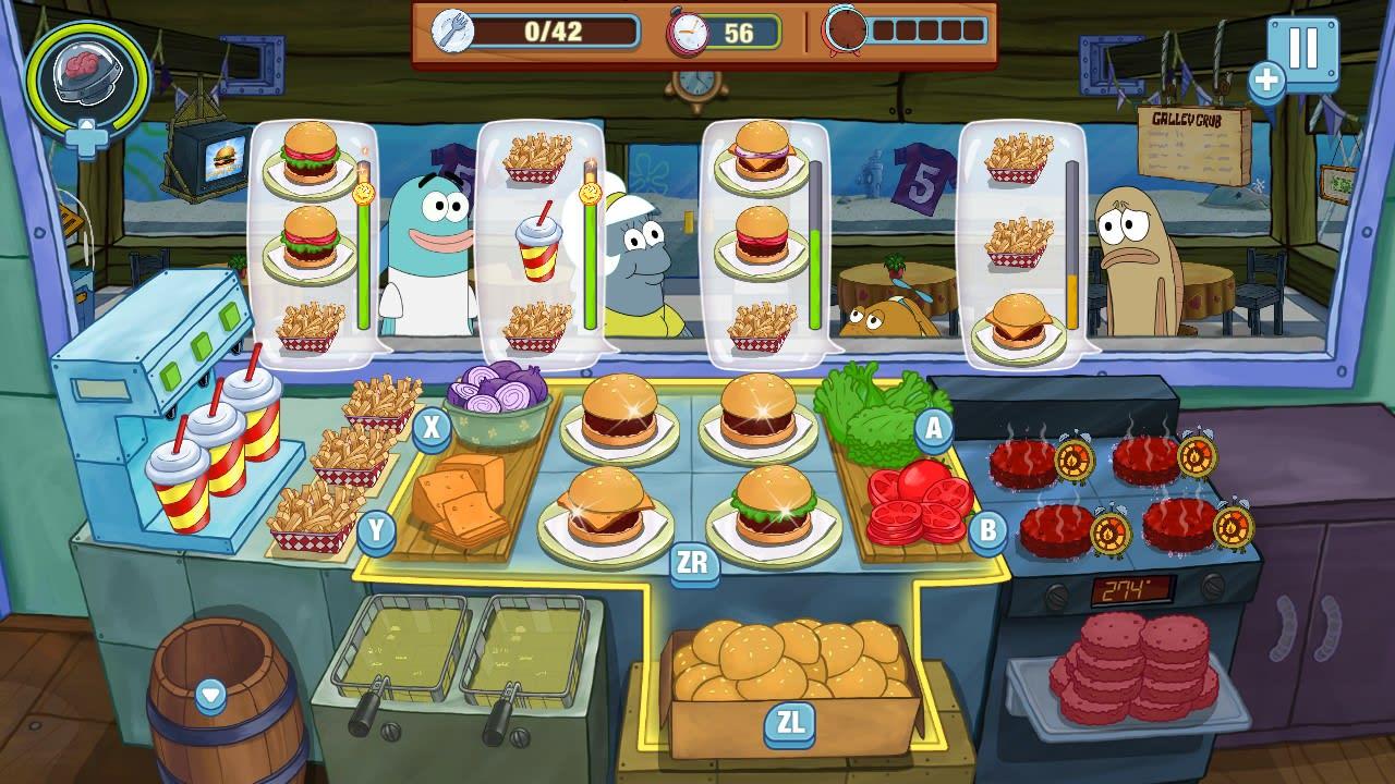 海绵宝宝:大闹蟹堡王(SpongeBob: Krusty Cook-Off)插图1