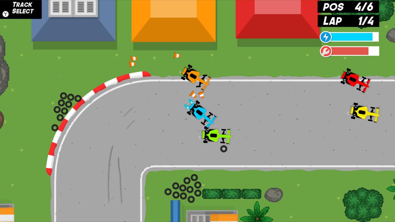 【switch】《俯视赛车 Top Down Racer》英文版nsp游戏下载