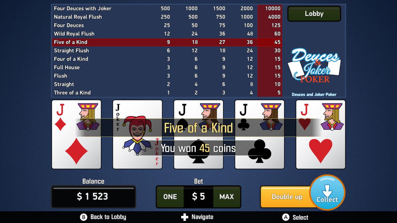 电子扑克合集(Video Poker Collection)插图1