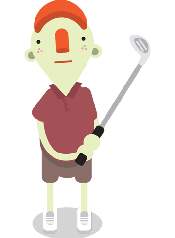 Golf what the Yahoo is
