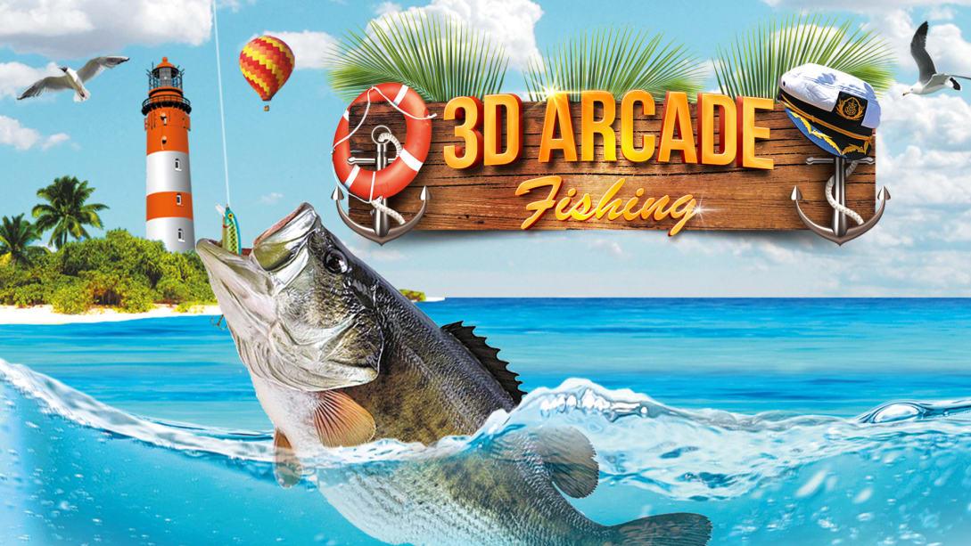 3D渔夫钓鱼(3D Arcade Fishing)插图5