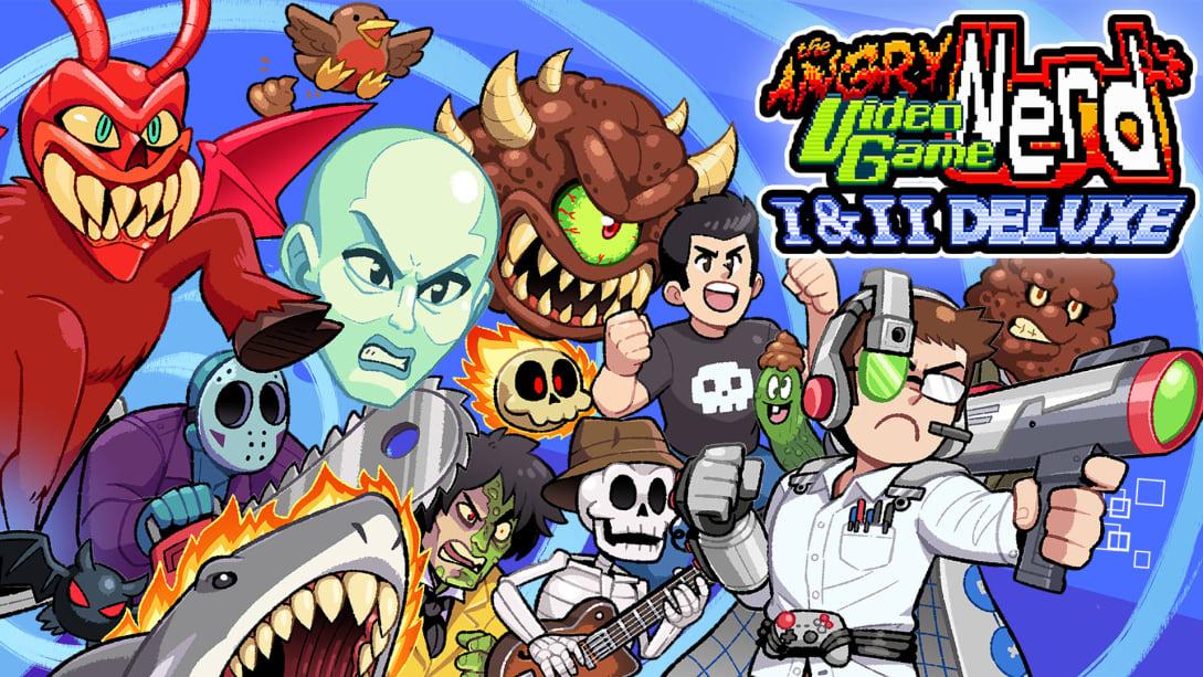愤怒的电视游戏宅男冒险 1 & 2 豪华版(Angry Video Game Nerd I & II Deluxe)插图5