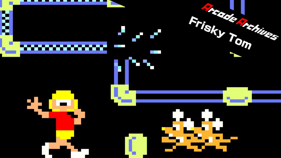 街机博物馆:水管工汤姆(Arcade Archives Frisky Tom)插图5