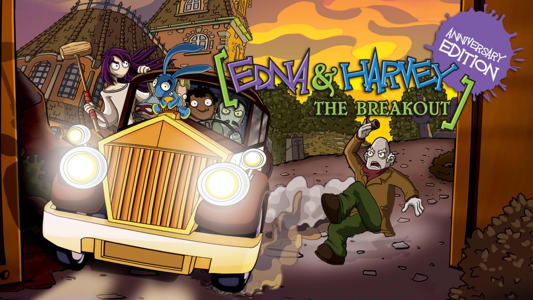 埃德娜和哈维:逃离疯人院 周年纪念版(Edna & Harvey: The Breakout)插图6