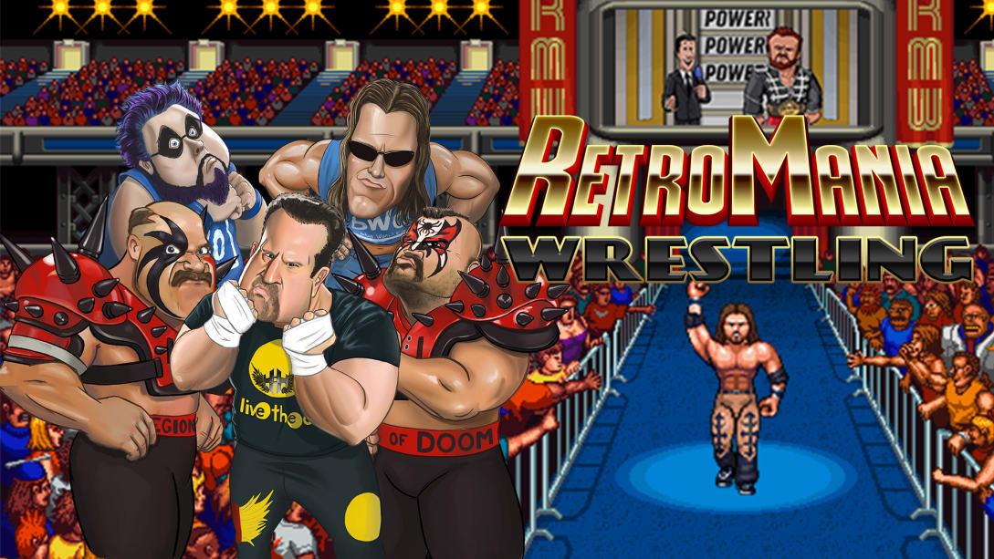 疯狂复古摔跤(RetroMania Wrestling)插图5