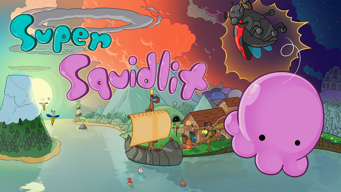 超级鱿鱼仔(Super Squidlit)插图6