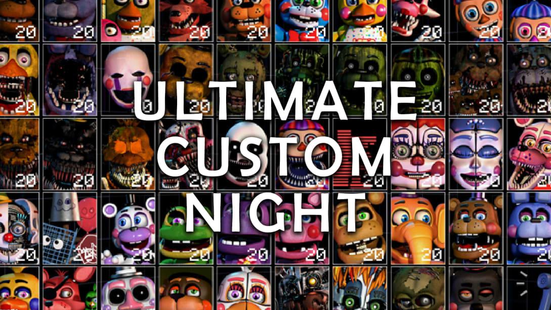 终极定制之夜(Ultimate Custom Night)插图5