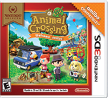 Animal Crossing: New Leaf - Welcome amiibo Boxart