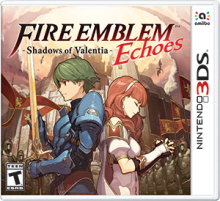 Fire Emblem Echoes: Shadows of Valentia Boxart