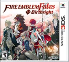 Fire Emblem Fates: Birthright Boxart