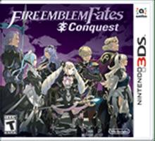 Fire Emblem Fates: Conquest Boxart