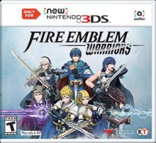 Fire Emblem Warriors Boxart