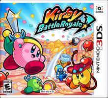 Kirby Battle Royale Boxart