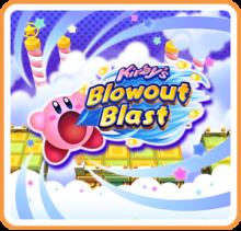 Kirby's Blowout Blast Boxart