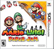 Mario & Luigi: Paper Jam Boxart