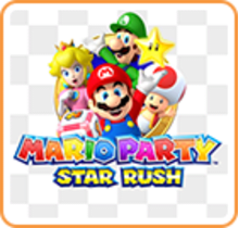 Mario Party Star Rush - Party Guest Edition Boxart