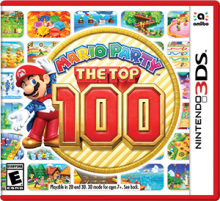 Mario Party: The Top 100 Boxart