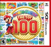 Mario Party: The Top 100 Boxart