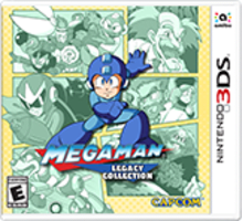 Mega Man Legacy Collection Boxart