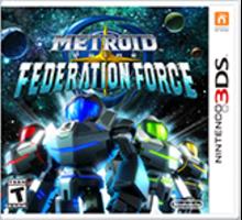 Metroid Prime: Federation Force Boxart