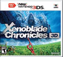 Xenoblade Chronicles 3D Boxart