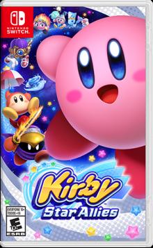 Kirby™ Star Allies Boxart
