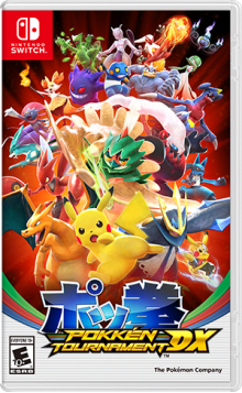 Pokkén Tournament™ DX Boxart