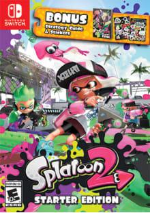 Splatoon 2 - Starter Edition Boxart