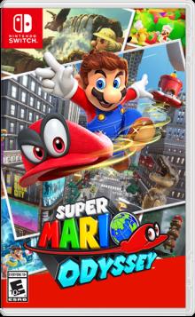 Super Mario Odyssey™ Boxart