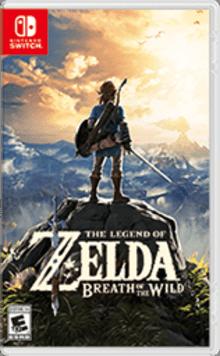 The Legend of Zelda™: Breath of the Wild Boxart