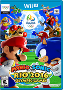 Mario & Sonic at the Rio 2016 Olympic Games Boxart