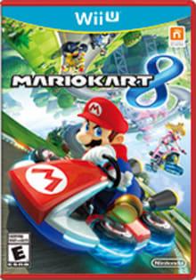 Mario Kart 8 Boxart