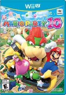 Mario Party 10 Boxart