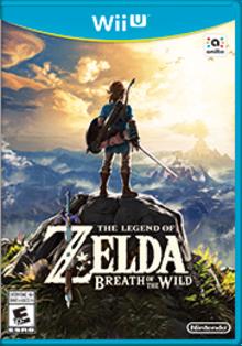 The Legend of Zelda: Breath of the Wild Boxart
