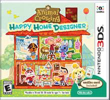 Animal Crossing: Happy Home Designer Boxart