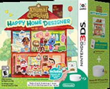 Animal Crossing: Happy Home Designer Bundle Boxart