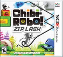 Chibi-Robo! Zip Lash Boxart