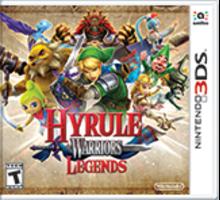 Hyrule Warriors Legends Boxart