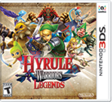 Hyrule Warriors Legends Boxart
