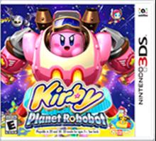 Kirby: Planet Robobot Boxart