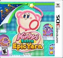 Kirby's Extra Epic Yarn Boxart