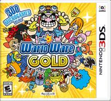 WarioWare Gold Boxart