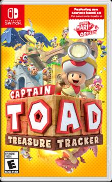 Captain Toad™: Treasure Tracker  Boxart