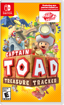 Captain Toad™: Treasure Tracker  Boxart