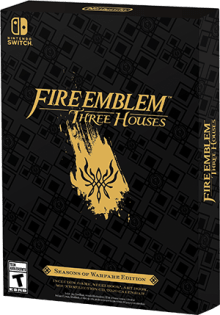 Fire Emblem: Three Houses - Seasons of Warfare Edition Boxart