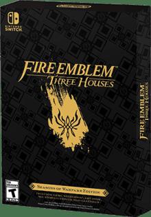 Fire Emblem: Three Houses - Seasons of Warfare Edition Boxart