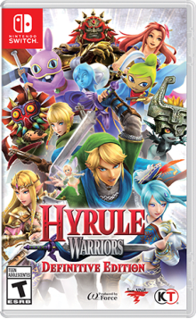 Hyrule Warriors: Definitive Edition Boxart