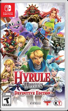 Hyrule Warriors: Definitive Edition Boxart